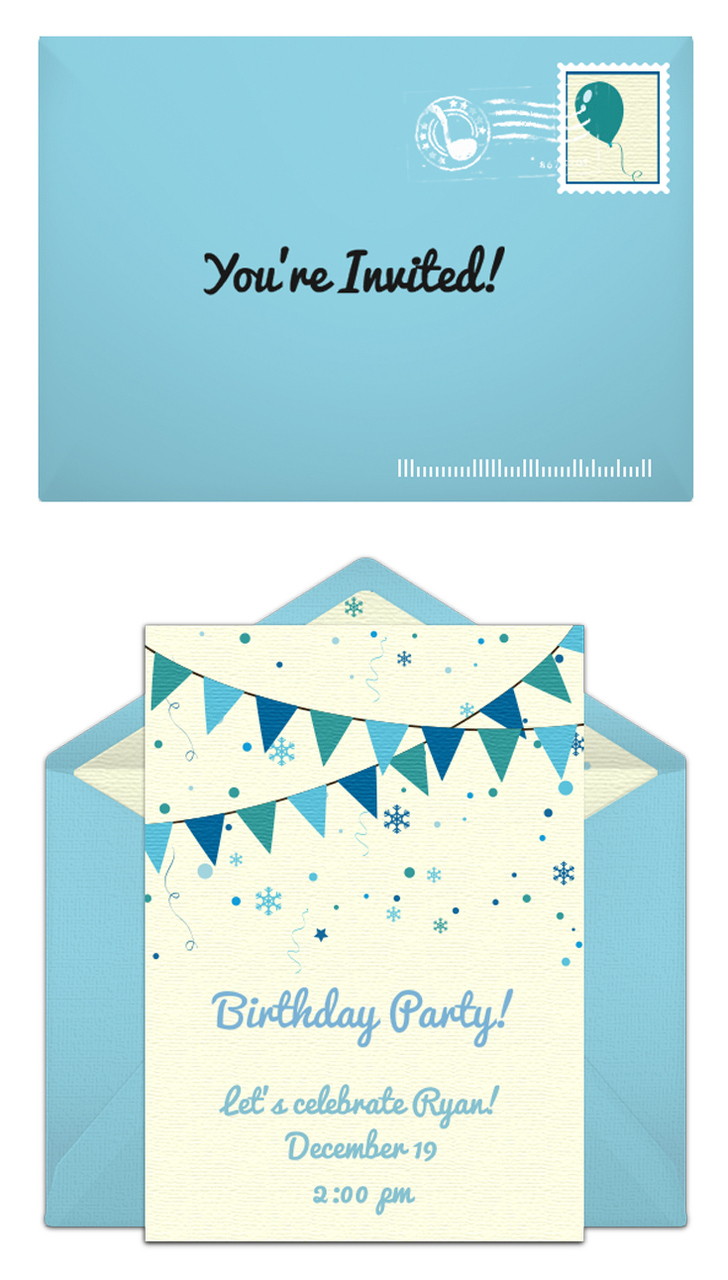 Winter carnival birthday party free winter birthday party invitations filmwisefo Image collections