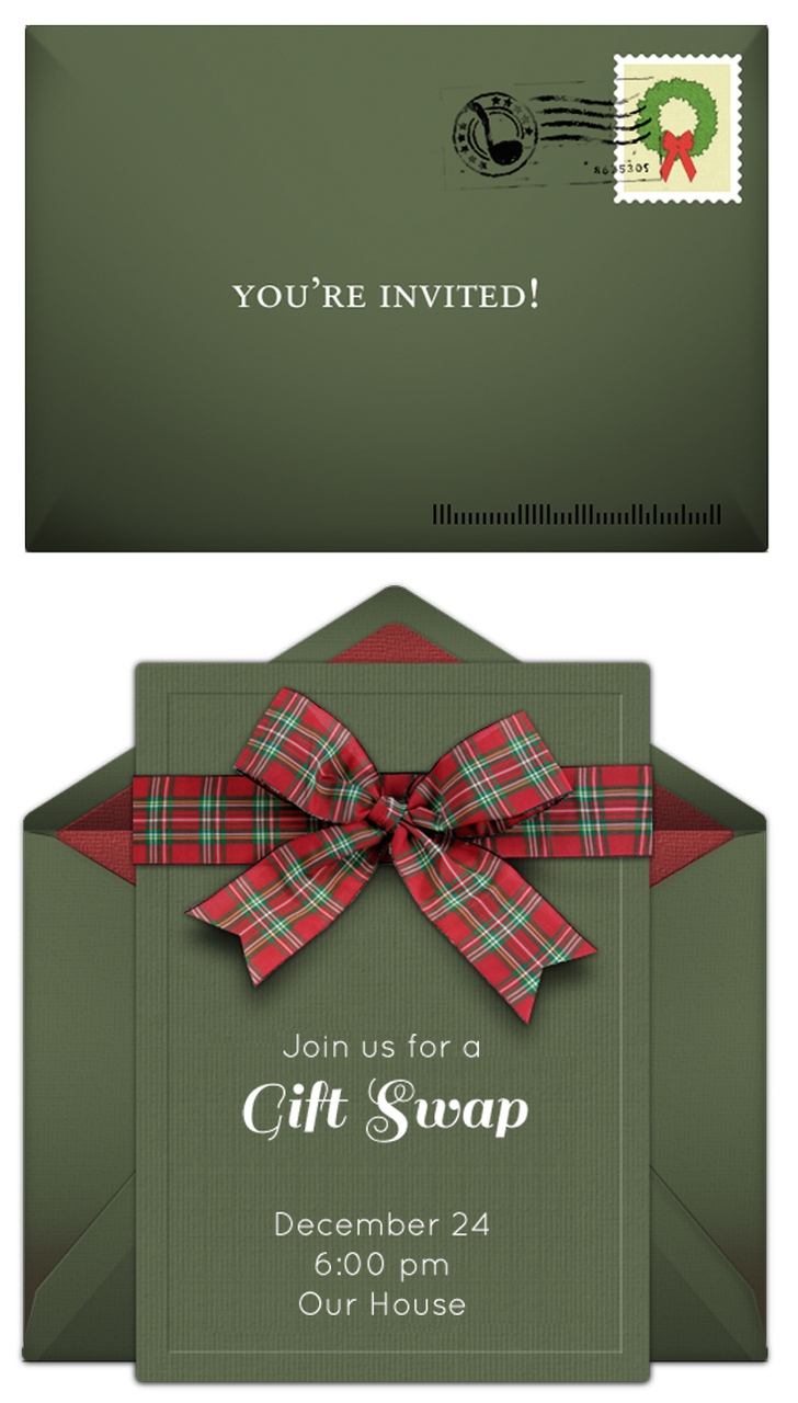 Use Online Invitations for Busy Holiday Season
