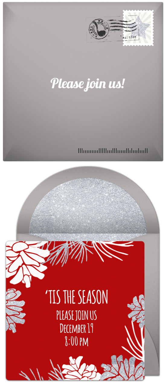 Creative Online Holiday Invitations