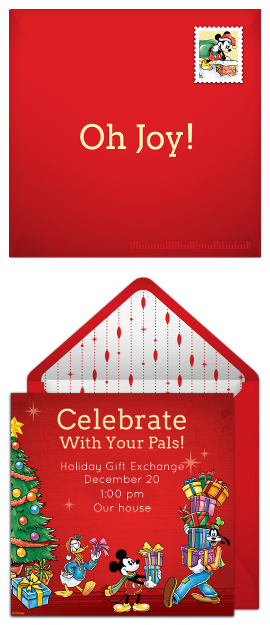 Free Christmas party invitations
