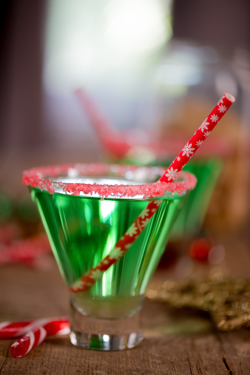 A Candy Cane Christmas Cocktail Party