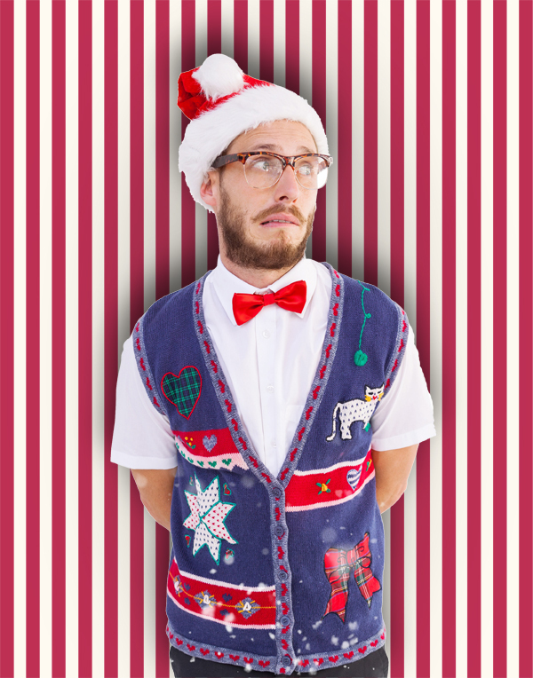 Ugly Sweater Photo Booth idea