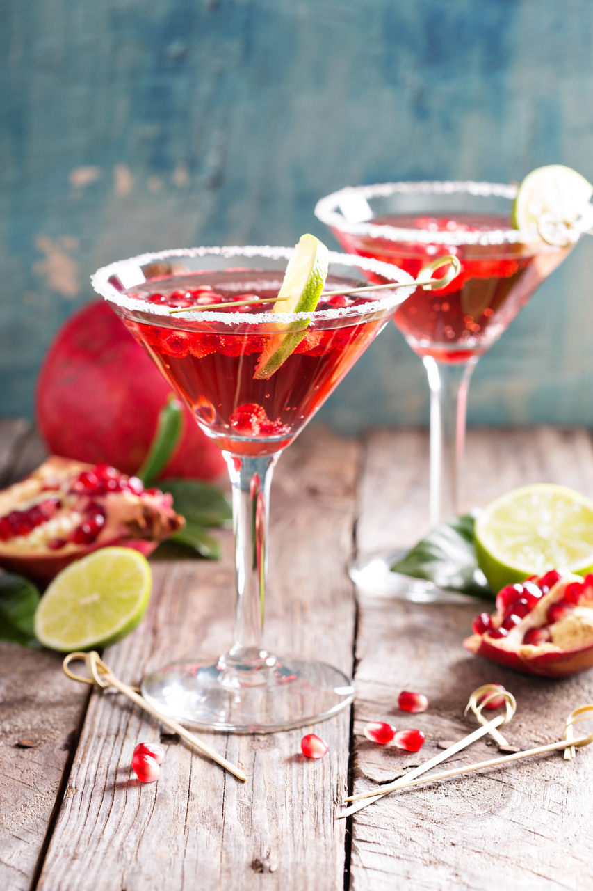 Christmas Cocktail: Pomegranate Martini Recipe