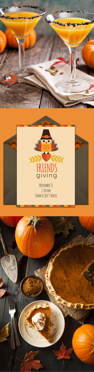 Friendsgiving Dinner Ideas: recipes, activities, invitations, and more!