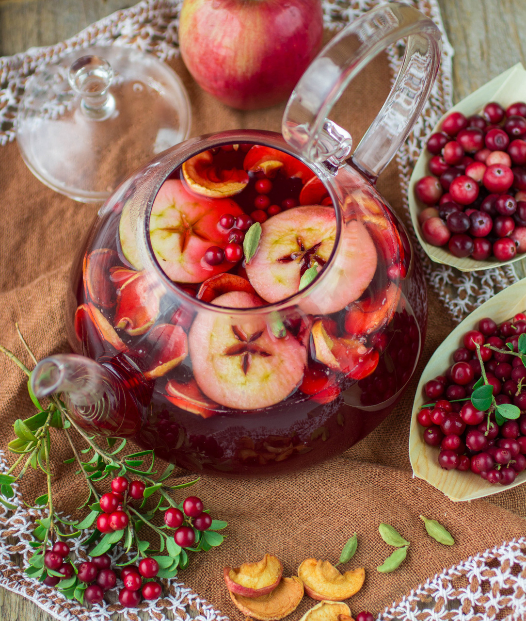 Champagne Christmas Punch Recipe