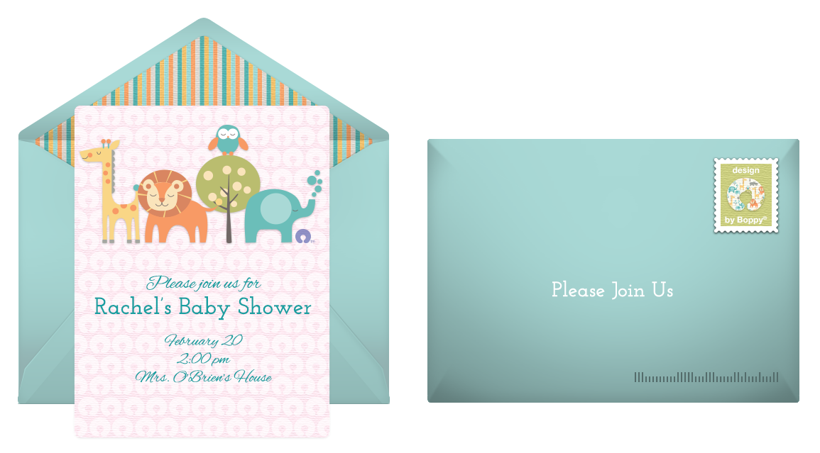 6 Whimsical Baby Shower Invitations