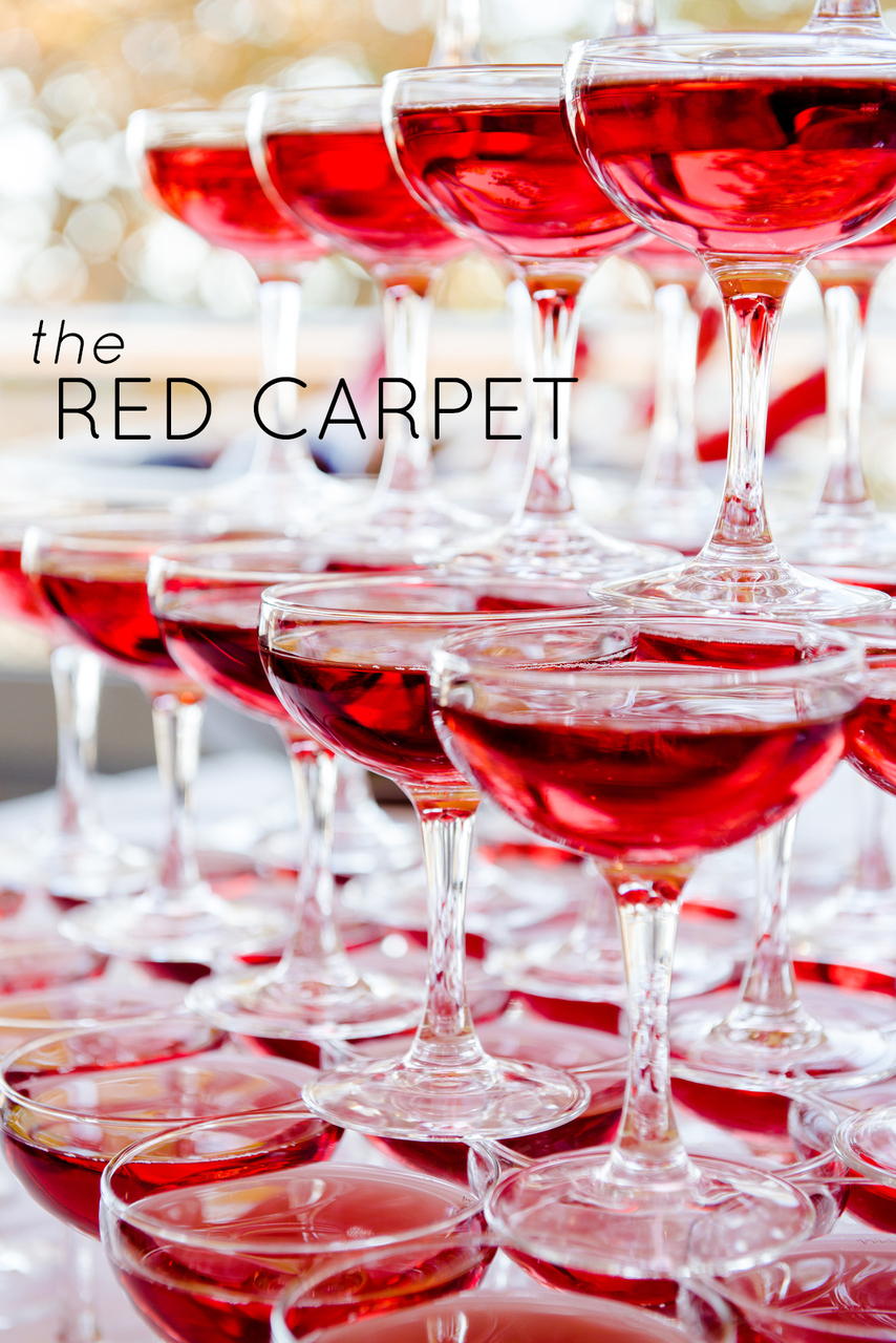 Top 5 Oscars-Inspired Cocktails: The Red Carpet (Glam Kir Royale)