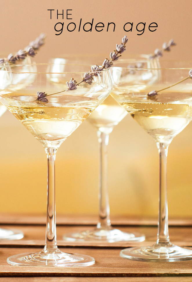 Top 5 Oscars-Inspired Cocktails: The Golden Age (Ginger Champagne Sparkler)
