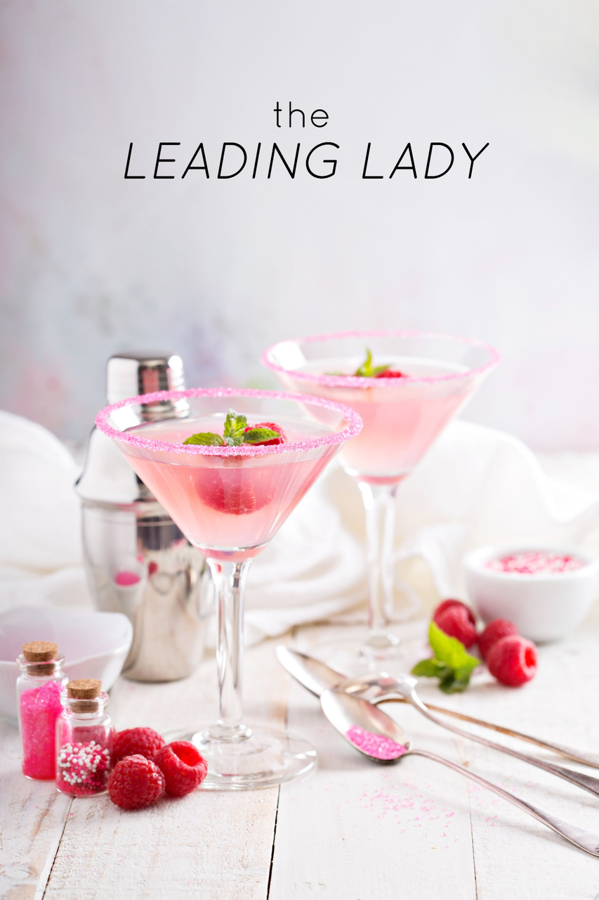 Top 5 Oscars-Inspired Cocktails: The Leading Lady (Raspberry Lemon Drop Martini)