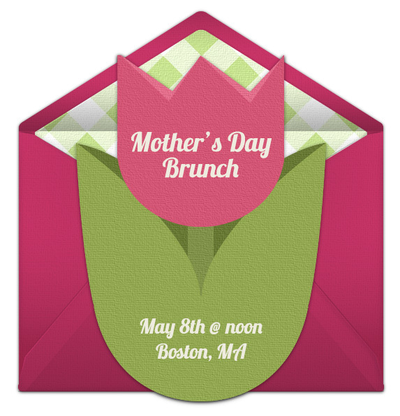 Free Mother's Day Online Invitations