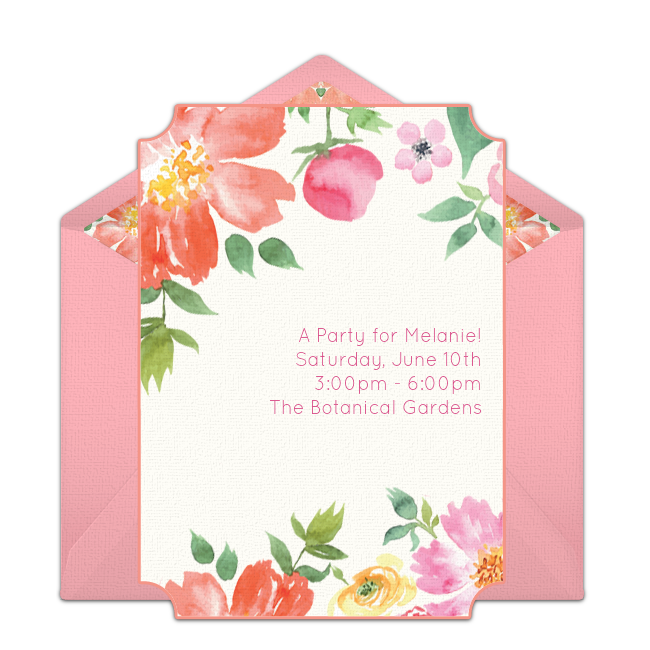 free bridal shower online invitations