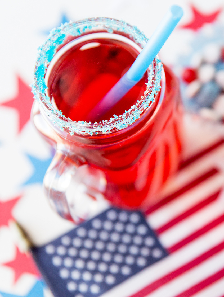 Patriotic Drink for Kids