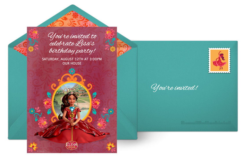 Plan A Magical Elena Of Avalor Birthday Party