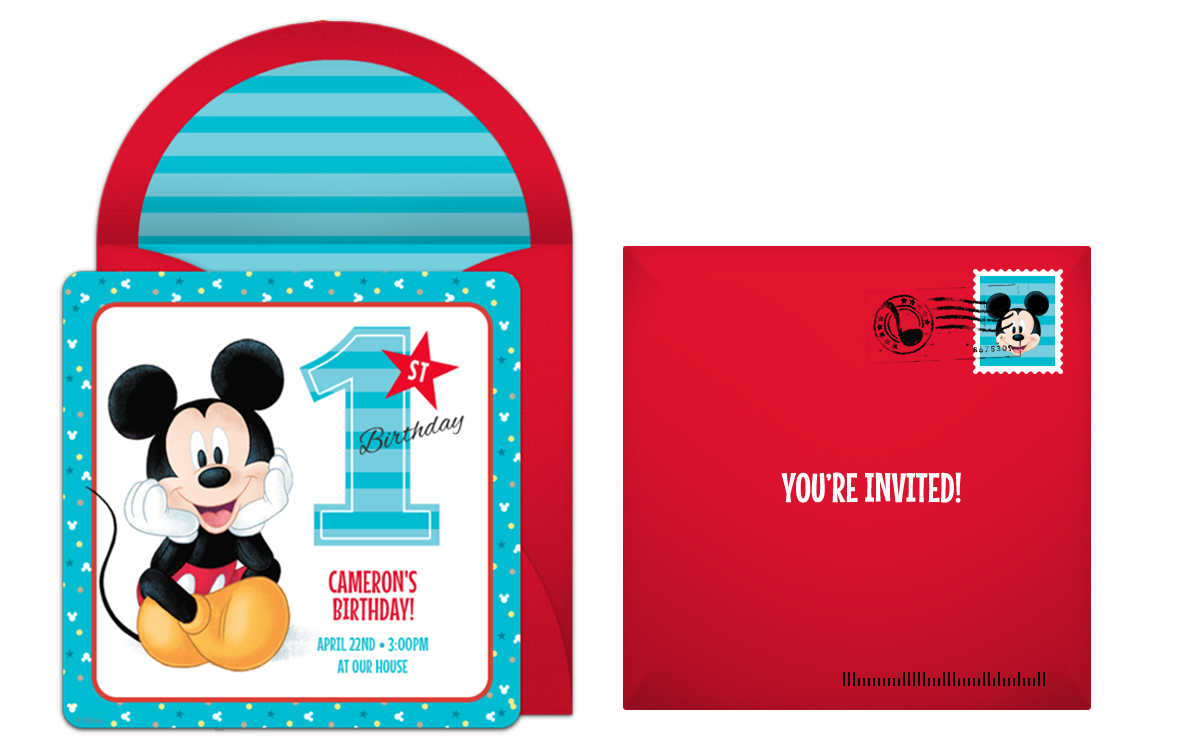 Plan A Precious Mickey Mouse 1st Birthday Party