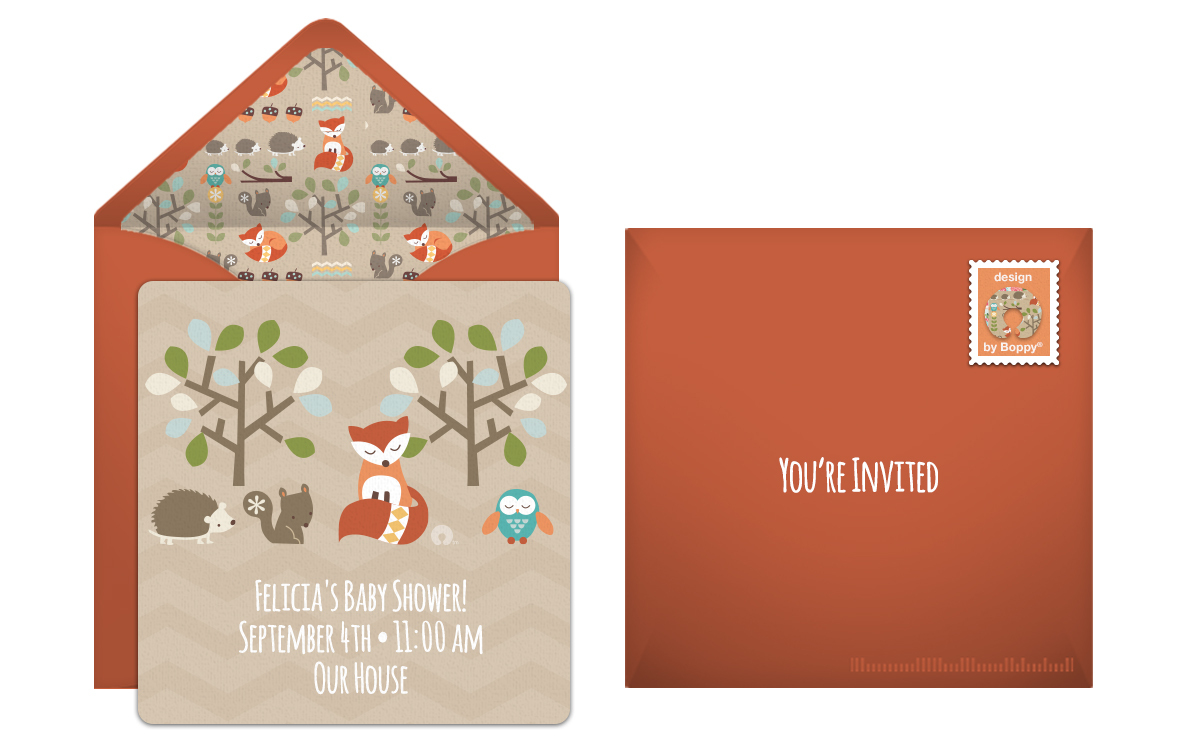 6 Whimsical Baby Shower Themes and Invitations