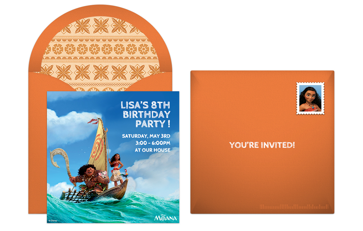Plan An Action Packed Moana Birthday Party