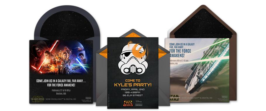 Free Star Wars Invitations Star Wars Online Invitations – Punchbowl Birthday Invitations