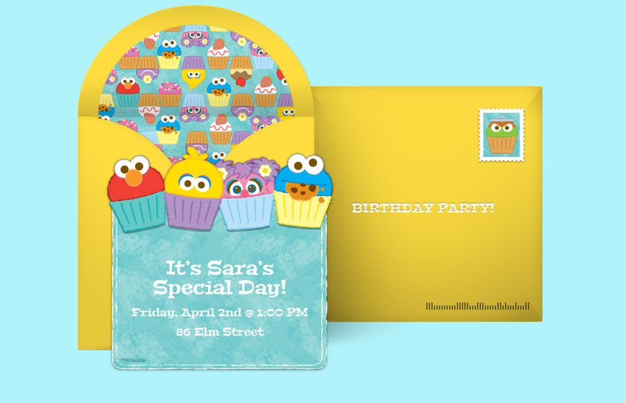 Plan a Sesame Street Cupcakes Party!