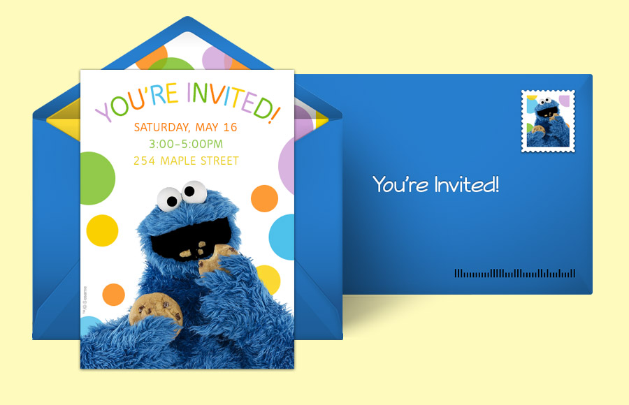 Plan a Cookie Monster Party!
