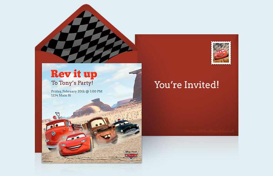 Plan a Cars Party!