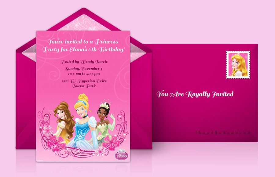 Plan a Disney Princess Party!