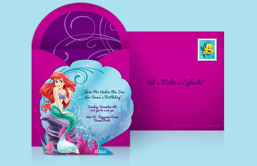 Disney Princess Party Invitations gangcraftnet – Disney Party Invitation Templates Free