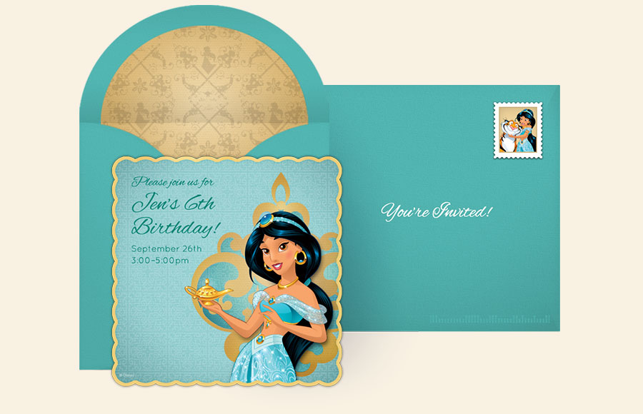 Plan a Jasmine Party!