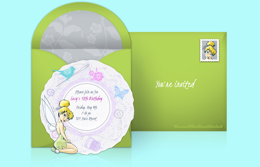 Plan a Tinker Bell Party!