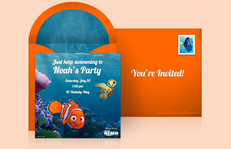 Plan a Finding Nemo Party!