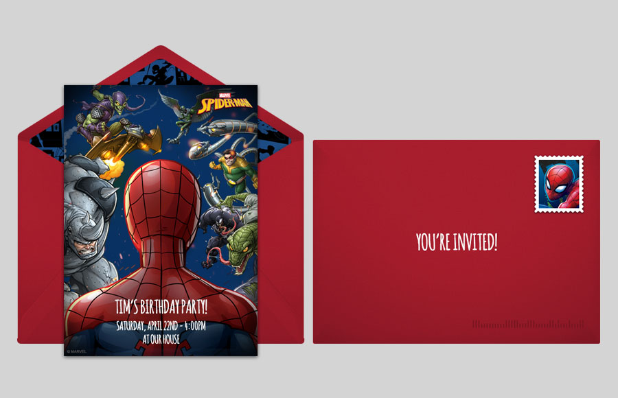 Plan a Spider-Man Villains Party!