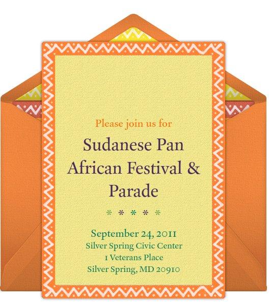 SUDANESE PAN AFRICAN FESTIVAL