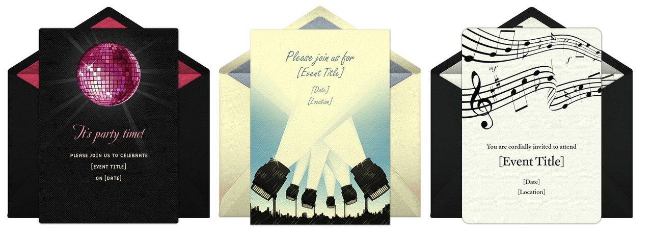 Punchbowl Invite is adorable invitation sample