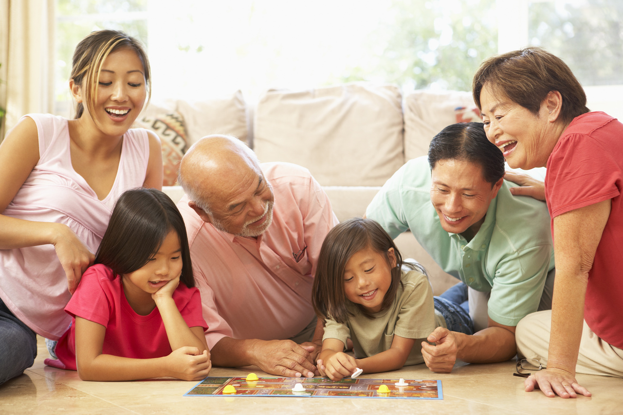 Beyond the classic board games, organize games such as a scavenger hunt, ...