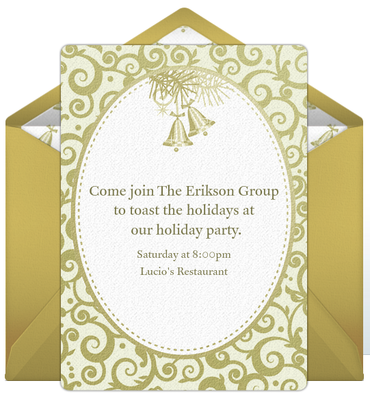Xmas Party Invite Template for awesome invitations sample
