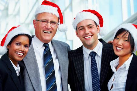 Company Holiday Party Decor