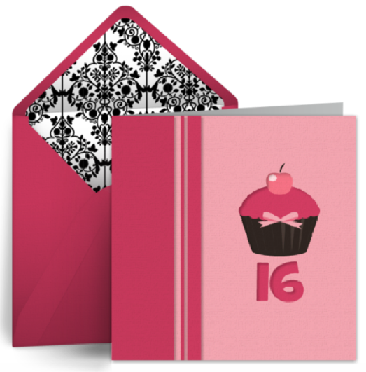 Punchbowl offers free Sweet Sixteen cards that send Sweet Sixteen birthday ...
