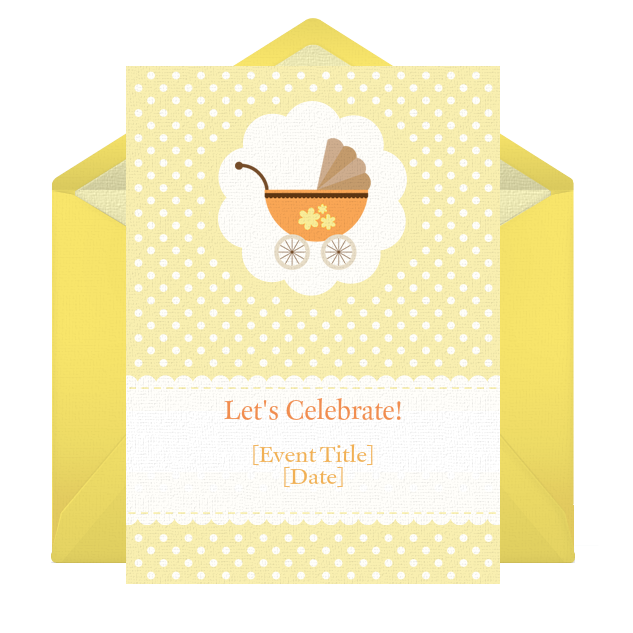with these tips for putting together your baby shower invitations