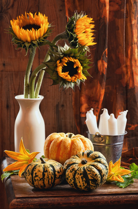 Simple decorations for fall party planning for Autumn party decoration ideas