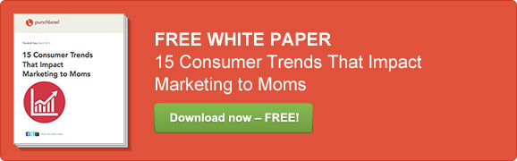 marketing to moms consumer trends