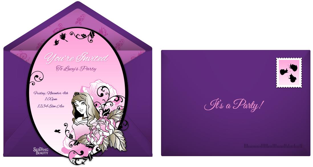 Online Party Invite as luxury invitation design