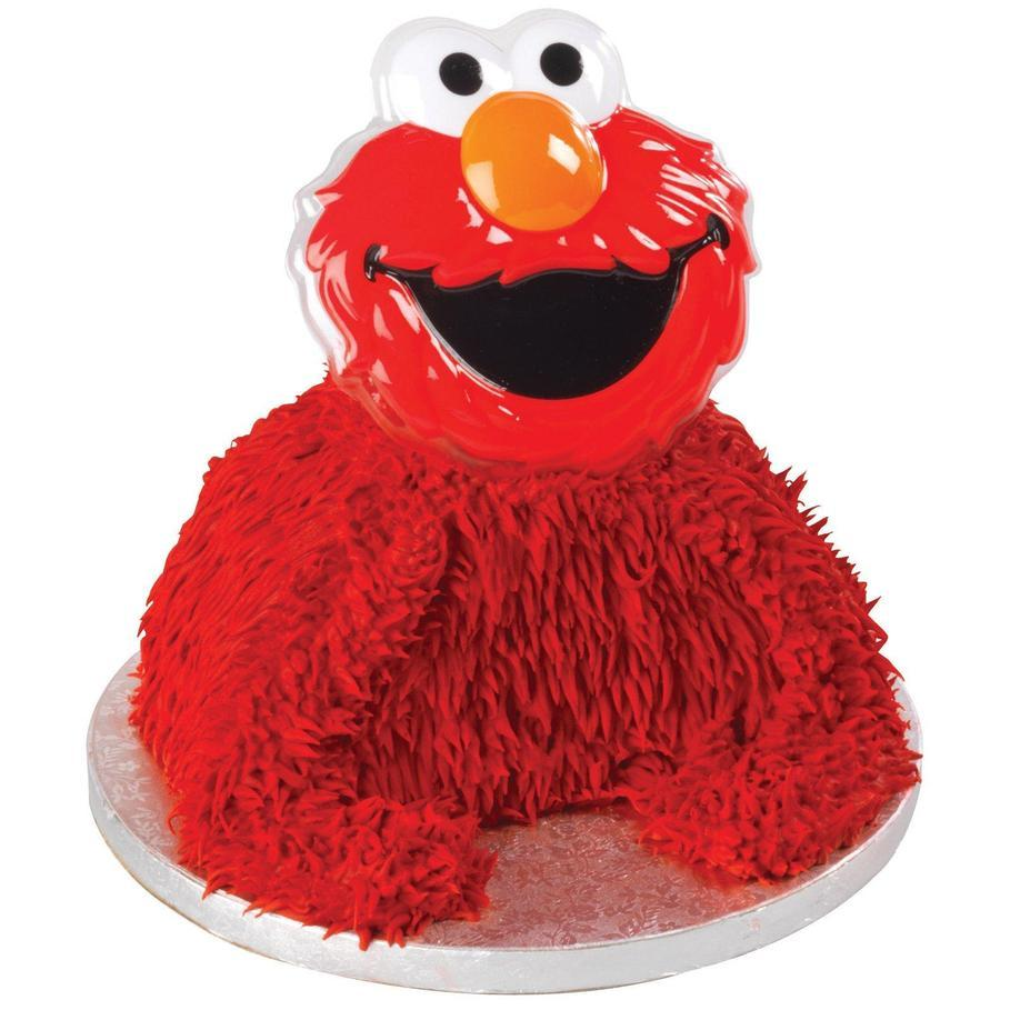 How To Make A D Elmo Cake Topper