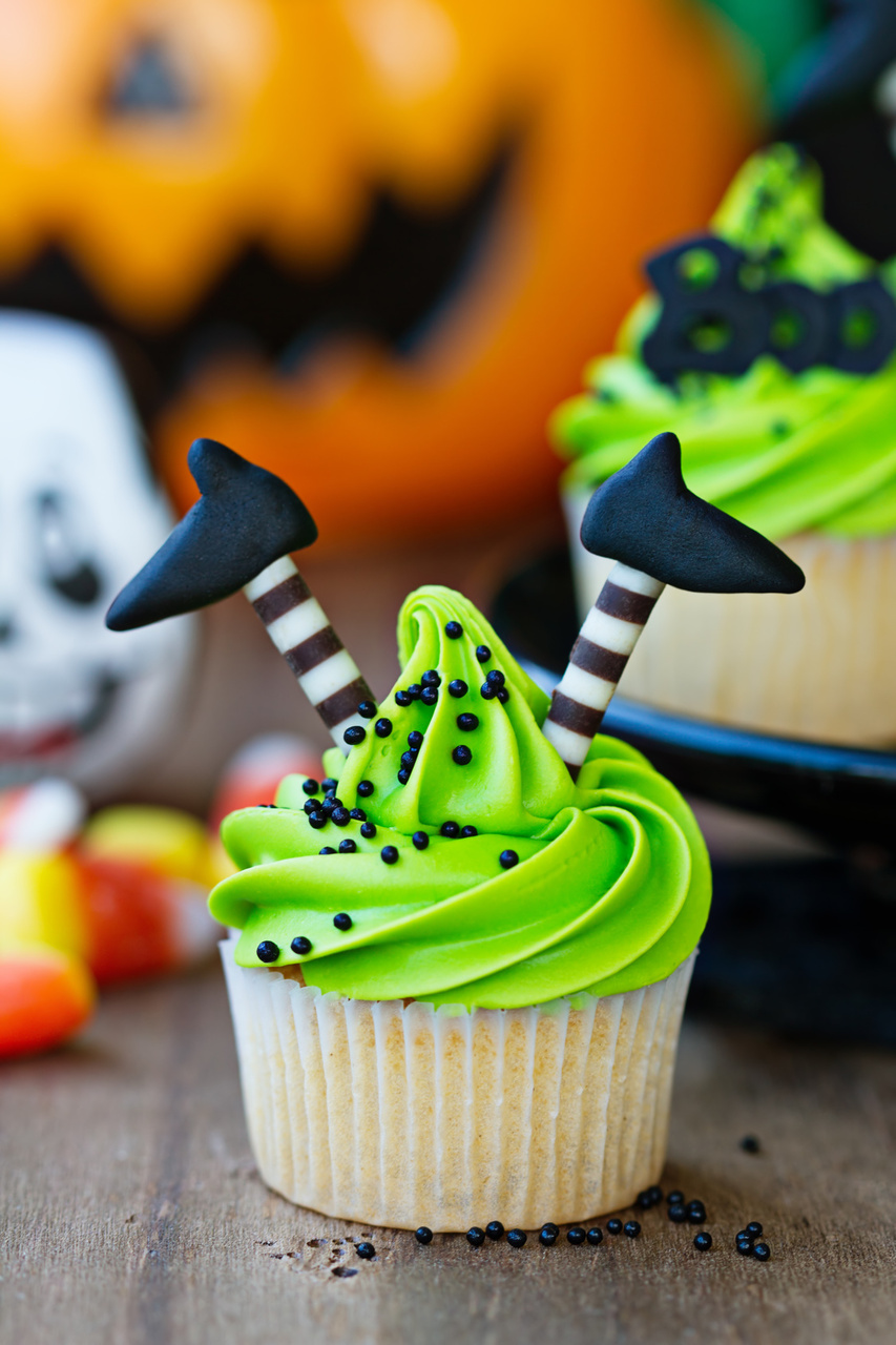 Halloween cupcake ideas for Cool decorations