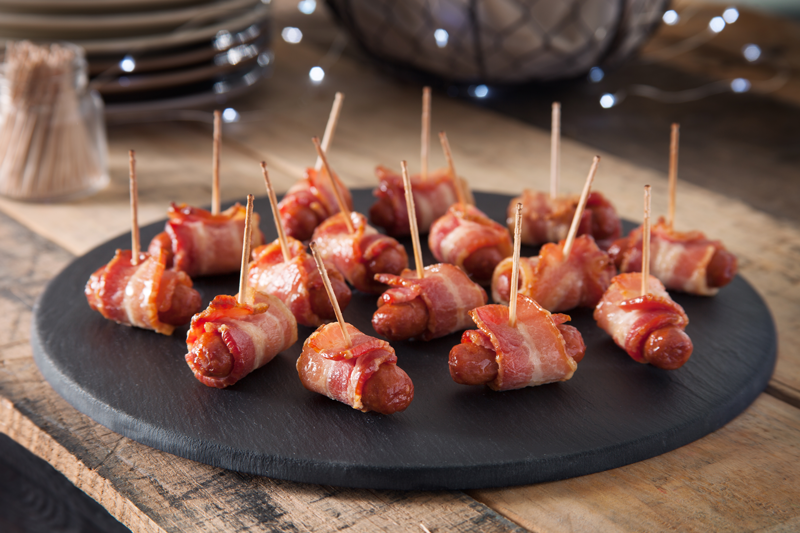 Bacon Wrapped Lit'l Smokies® Featuring Wright® Brand Bacon