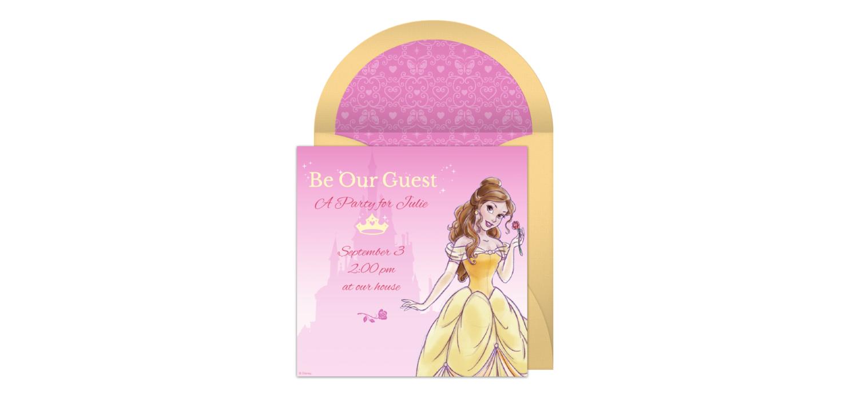 Free Belle Online Invitation - Punchbowl.com
