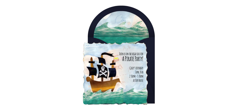 Free Pirate Ship Online Invitation - Punchbowl.com